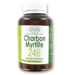 CHARBON MYRTILLE 246