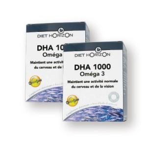 LOT DE 2 DHA 1000