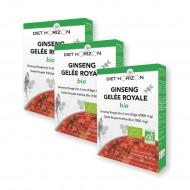 3 boîtes de Ginseng-Gelée Royale BIO