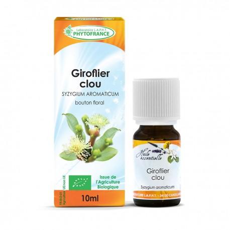 Huile essentielle bio de Clou De Girofle 10 ml