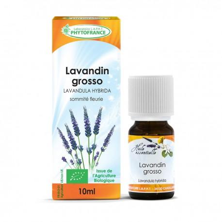 Huile essentielle bio de Lavandin - 10 ml