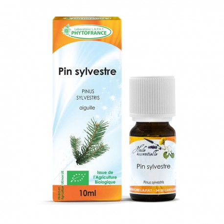 Huile essentielle bio de Pin Sylvestre - 10 ml
