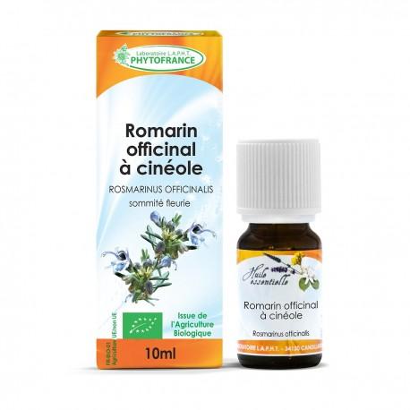 Huile essentielle bio de Romarin Cineol - 10 ml