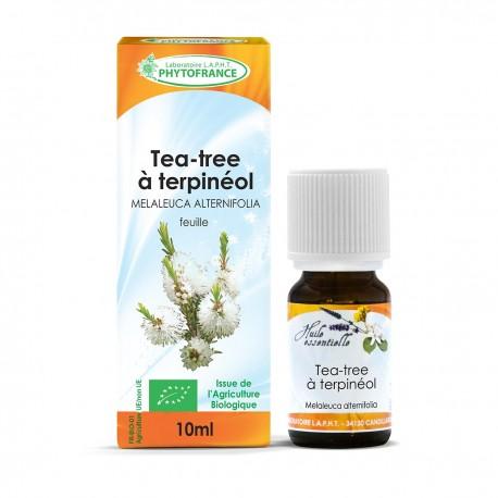 Huile essentielle bio de Tea Tree - 10 ml