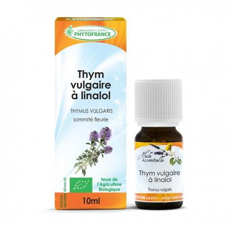 Huile essentielle bio de Thym Thymol - 5 ml