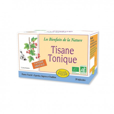 Tisane Tonique bio - 20 infusettes