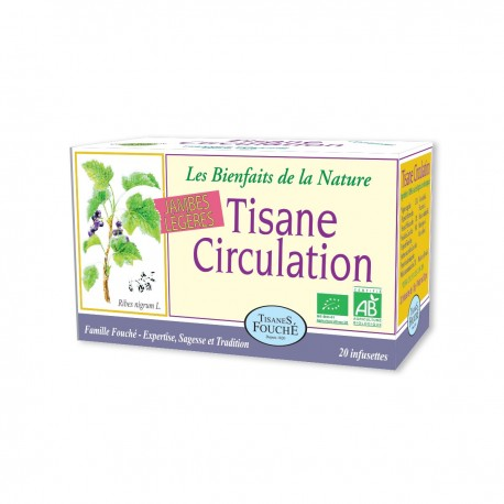 Tisane Circulation bio - 20 infusettes