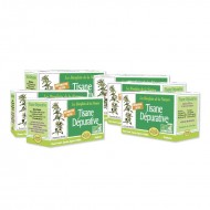LOT DE 6 TISANES DEPURATIVE-DETOX