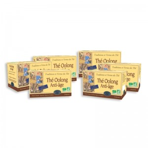 LOT DE 6 BOITES DE THE OOLONG